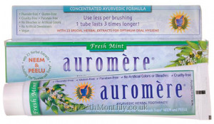 Auromere Ayurvedic Herbal Toothpaste Fresh Mint