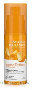 Avalon Organics Intense Defense Facial Serum