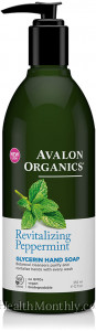 Avalon Organics Revitalizing Peppermint, Glycerin Hand Soap