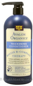 Avalon Organics Thickening Conditioner Biotin B-Complex Therapy