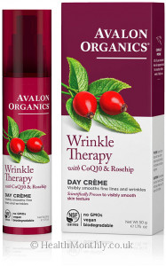 Avalon Organics Wrinkle Therapy with CoQ10 & Rosehip, Day Creme