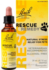 Bach Flower Rescue Remedy for Pet