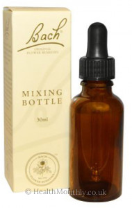 Bach Original Flower Essences Mixing Bottle