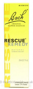 Bach Original Flower Essences Rescue Remedy