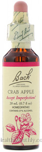 Bach Original Flower Remedies Crab Apple