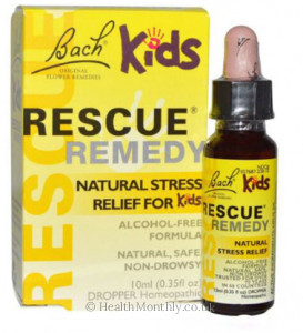 Bach Original Flower Remedies Kids Rescue Remedy Dropper