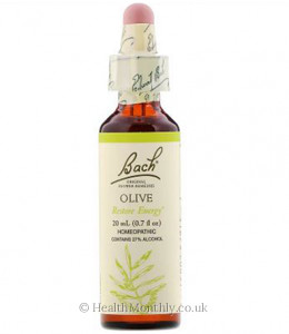 Bach Original Flower Remedies Olive