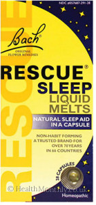 Bach Rescue Sleep Liquid Melts