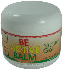 Be Active Balm Natural Gel