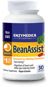 Enzymedica Bean Assist for Gas, Bloating & Indigestion