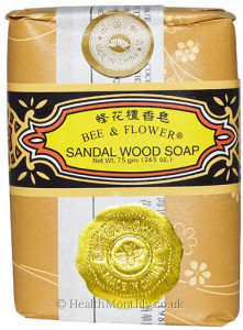 Bee & Flower Sandal Wood Soap