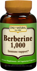 Only Natural Berberine 1000 Immune Support