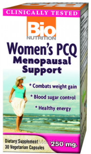 Bio Nutrition Women's PCQ Menopausal Support