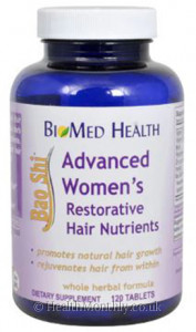 BioMed Health Advanced Bao Shi Men's Restoration Hair Nutrients