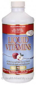 Buried Treasure High Potency Liquid Vitamin