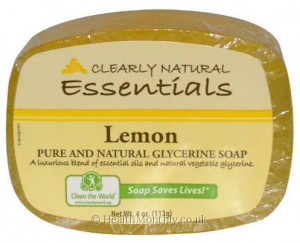 Clearly Natural Essentials Natural Glycerine Soap Bar