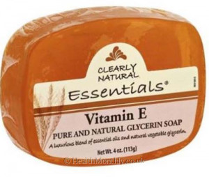 Clearly Natural Essentials Vitamin E Glycerin Soap Bar