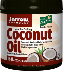 Jarrow Organic Coconut Oil