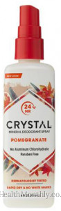 Crystal Body Deodorant Mineral Deodorant Spray
