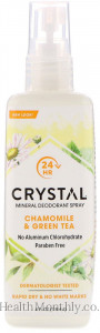 Crystal Body Deodorant, Mineral Deodorant Spray