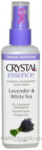 Crystal Essence Mineral Deodorant Body Spray