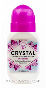 Crystal Mineral Body Roll-On Deodorant