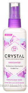 Crystal Natural Protection Body Deodorant Spray