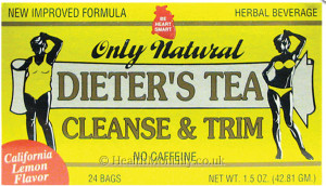 Only Natural Dieters Tea Cleanse and Trim No Caffeine
