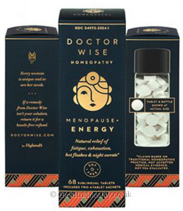 Doctor Wise Homeopathy Menopause + Energy