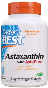 Doctor's Best Astaxanthin with AstaPure