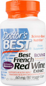 Doctor's Best French Red Wine Extract with Biovin