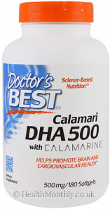 Doctor's Best Calamari DHA 500 with Calamarine
