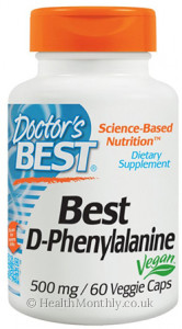 Doctor's Best D-Phenylalanine