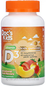 Doctor's Best Doc's Kids Vitamin D3
