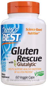 Doctor's Best Gluten Rescue with Glutalytic