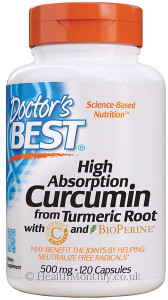 Doctor's Best Curcumin C3 Complex with BioPerine