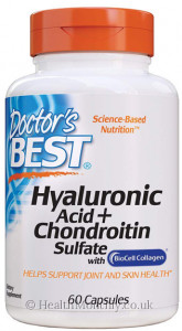Doctor's Best Hyaluronic Acid with Chondroitin Sulphate
