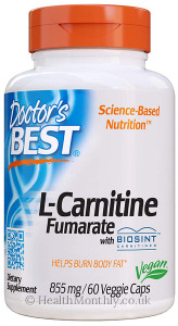 Doctor's Best L-Carnitine Fumarate with Biosint Carnitines