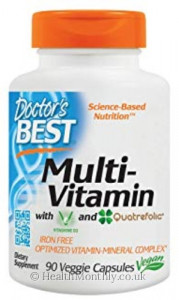 Doctor's Best Multi-Vitamin with Vitashine D3 and Quatrefolic
