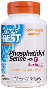 Doctor's Best Phosphatidyl Serine with Serin Aid