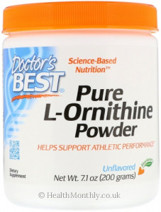 Doctor's Best Pure L-Ornithine Powder