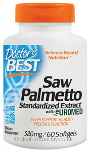 Doctor's Best Saw Palmetto Standardised Extract