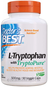 Doctor's Best L-Tryptophan with Tryptopure