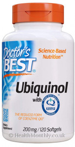 Doctor's Best Ubiquinol with Kaneka's QH