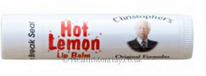 Dr Christopher's Hot Lemon Lip Balm Tube