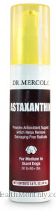 Dr. Mercola Astaxanthin Liquid Pump for Medium to Giant Dogs