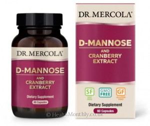 Dr. Mercola D-Mannose & Cranberry Extract