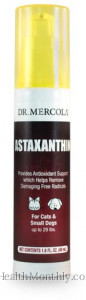 Dr. Mercola Astaxanthin Liquid Pump for Cats & Small Dog