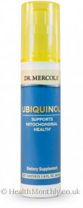 Dr. Mercola Ubiquinol Liquid Pump