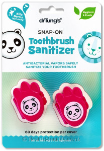 Dr Tung's Products Kids Snap-On Toothbrush Sanitizer